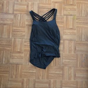 Lululemon 2in1 bra and tank top size 6